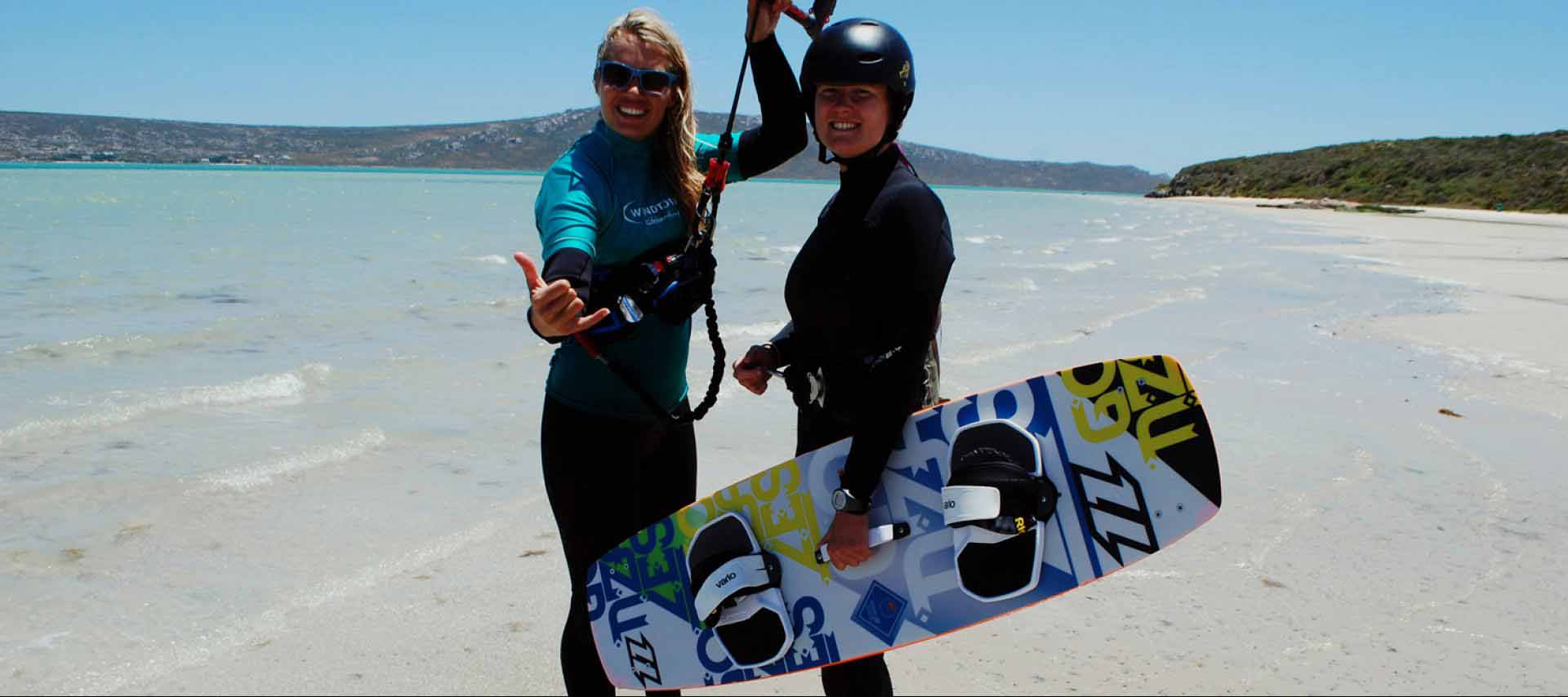 Kitesurf Courses| Kiteschool Windtown