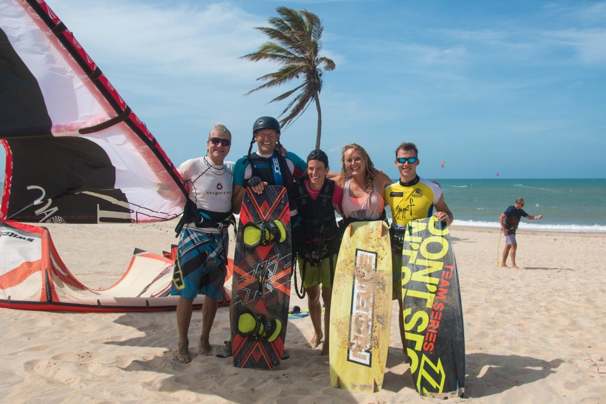 Kiters in | Kiteschool Windtown