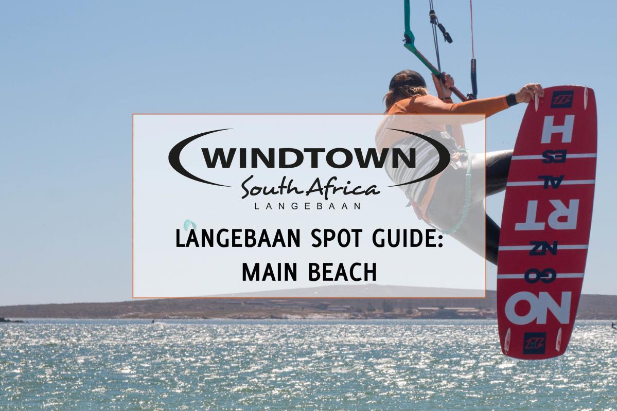 Main beach Langebaan | Kiteschool Windtown