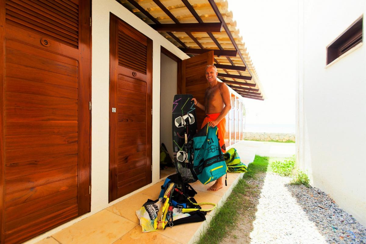 Locker Rooms Brazil | Kiteschool Windtown.com