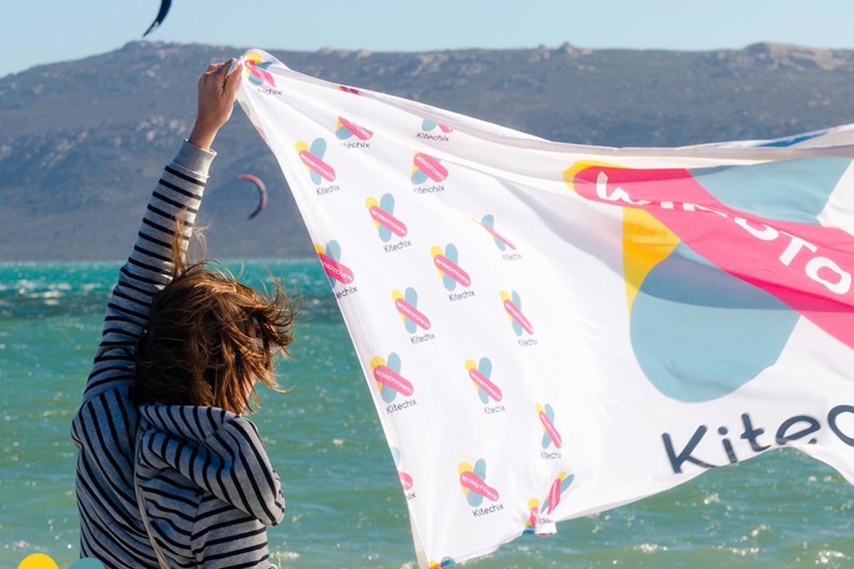 Kitechix South Africa Flag | Kiteschool Windtown.com